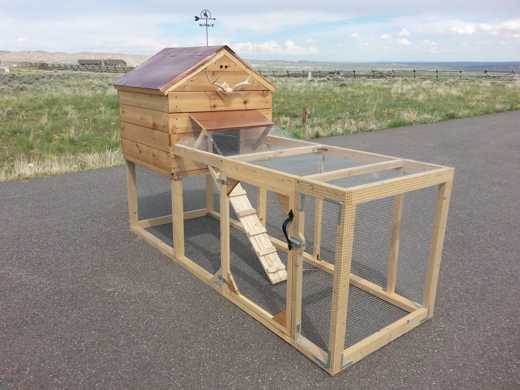 Wyoming Lodge Chicken Coop
