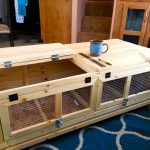 Unfinished Cotunrix Quail Hutch