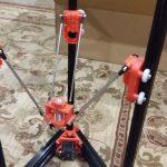 Control Rods Delta 3d Printer