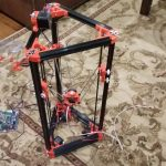Kossel 3d Printer Side